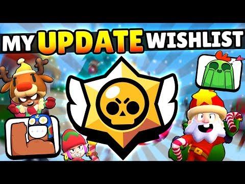 MY DECEMBER UPDATE WISHLIST & IDEAS! BRAWL PASS, CUSTOM GAMES & MORE!