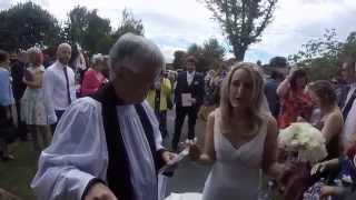 Sarah and Stuart Worthington's Wedding video 27.6.15 #GoPro