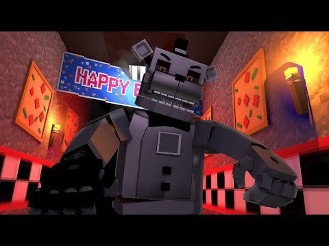 Phantom Freddy Attacks Sister Location- Minecraft FNAF Roleplay