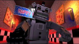Phantom Freddy Attacks Sister Location- Minecraft FNAF Roleplay