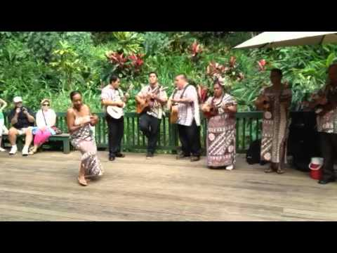 Hawaiian Wedding Song Hula