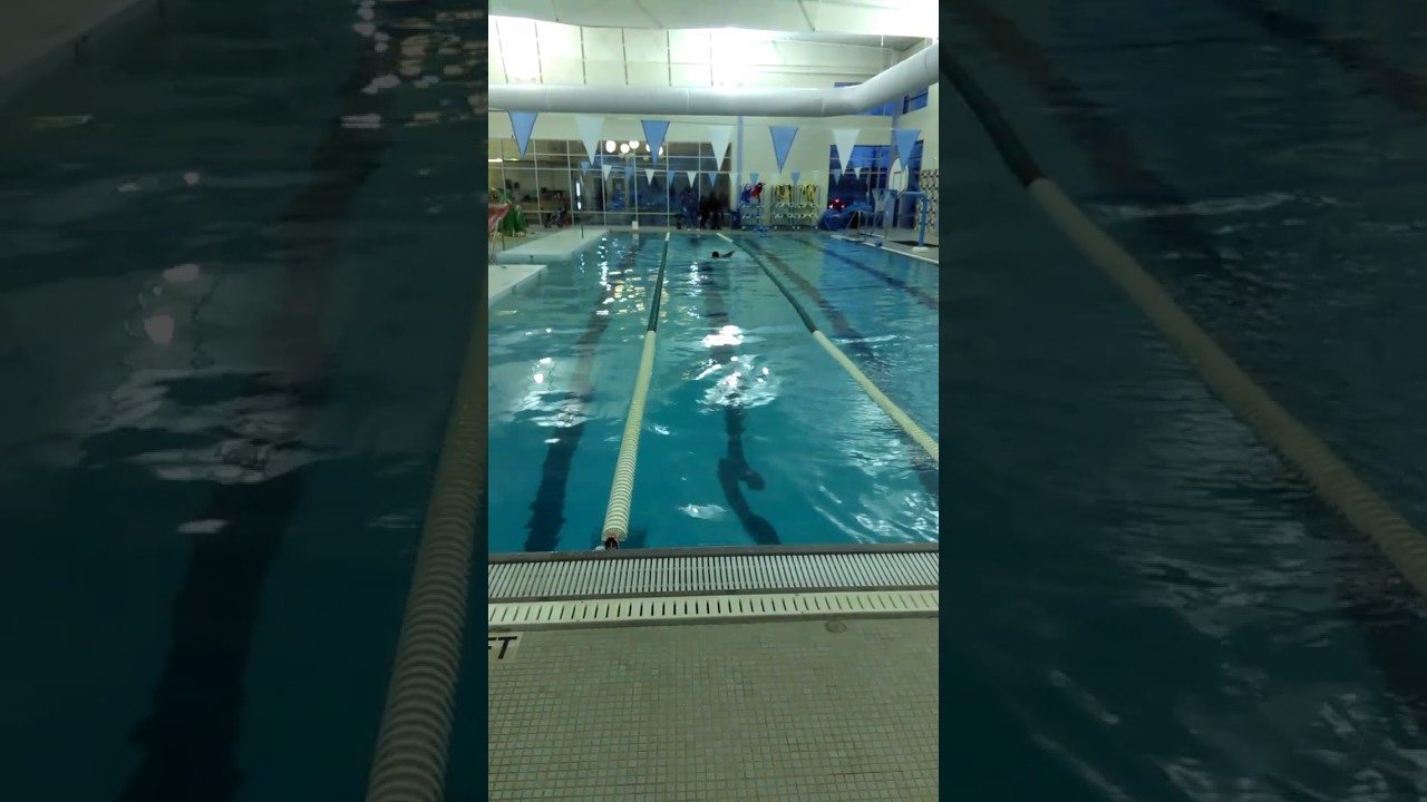 Chris boy scout swim test. - YouTube