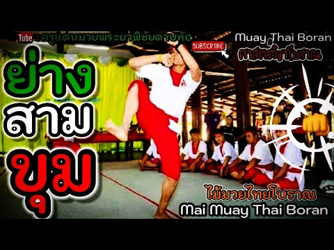 EP.18 ย่างสามขุม Yang Sam Khum 古泰拳三步法 #มวยโบราณ #ไหว้ครูมวยโบราณ