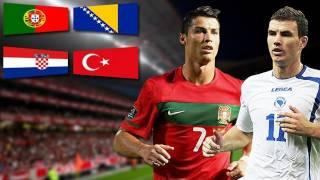 Ronaldo vs. Dzeko - Portugal vs. Bosnien H. - Kroatien vs. Türkei - EM 2012 Play-off-Rückspiele