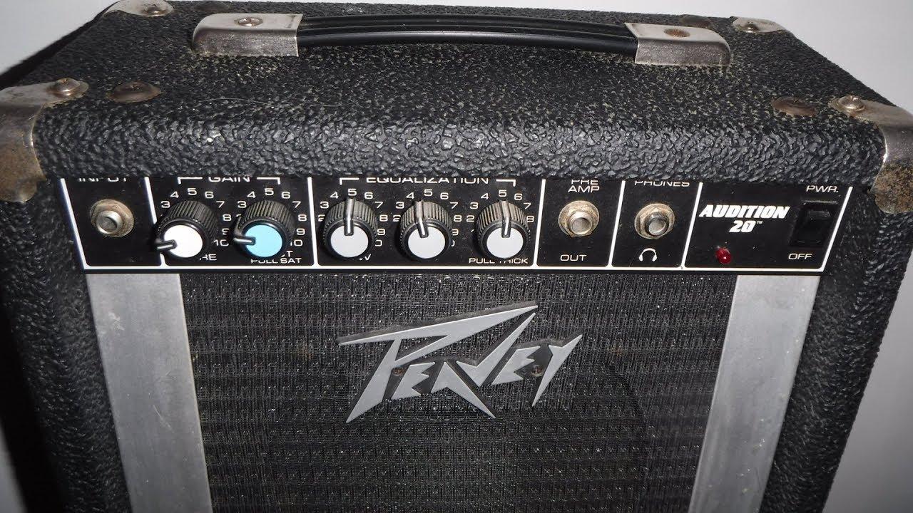 Peavey Audition 20 Guitar Amp Score For 20 Bucks