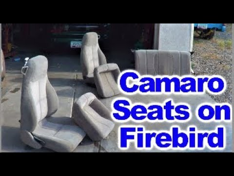 Replacing Torn Seats on 4th Generation Pontiac Firebird Trans Am with 4th Gen. Camaro Seats