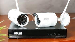 Zestaw monitoringu ZOSI 🎦 NVR + 2 kamery 1080p / Recenzja