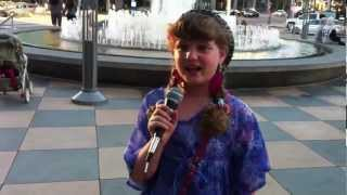 Piper at the Sherman Oaks Galleria (Alli & Cody Simpson Interview info)