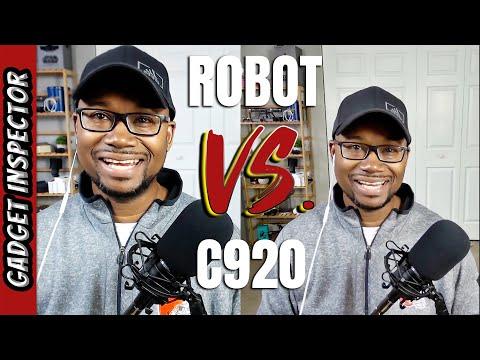 OBSBOT Tiny vs Logitech C920 HD Webcam Comparison