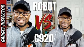 OBSBOT Tiny vs Logitech C920 HD Webcam Comparison