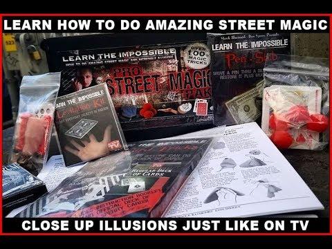 Learn How To Do Street Magic