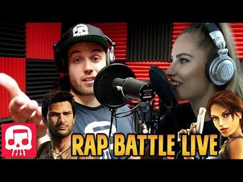 Lara Croft Vs Nathan Drake Rap Battle Live By Jt Music