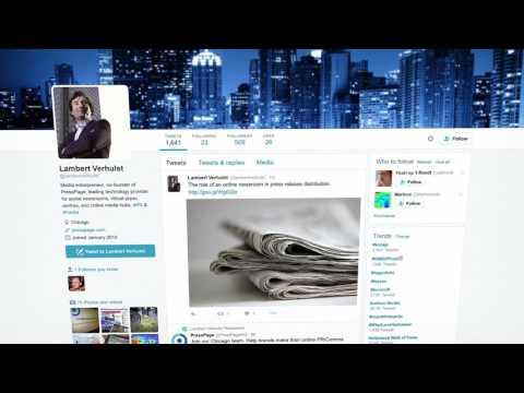 PressPage - Product Video
