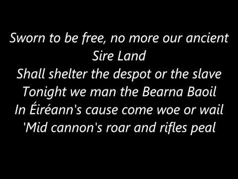 The Soldier's Song - The Irish Ramblers [Lyrics]