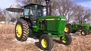 1989 John Deere 4055 2WD Tractor with 215 Hours Sold for $93,000 on Nebraska Auction