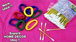 Best Reuse Of waste Rubber bands | Cool DIY Project Out Of Waste | Hair band Craft Idea