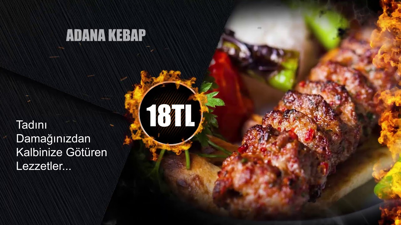 Eskişehir Bıçak Arası Restoran' a Özel Ürün Tanıtım Reklamı.