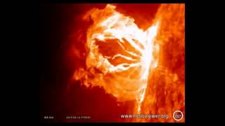 Largest Sun Eruptions 2012 - Beautiful and Amazing Solar Eruptions!