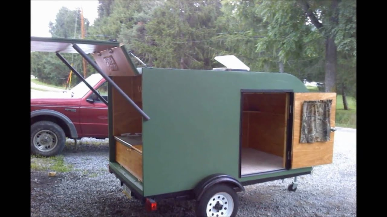 Teardrop Trailer Build Youtube