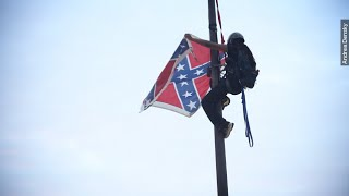Updated: Woman Arrested Removing Confederate Flag From S.C. Capitol  - Newsy