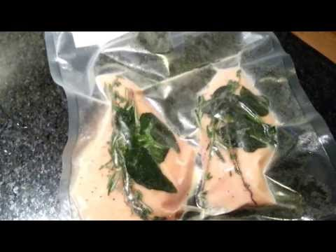 How to Sous Vide Cook Frozen Chicken Breast 1080p