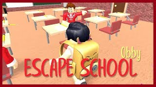 ROBLOX Indonesia ☆-Escape from school (̄ヘ ̄)