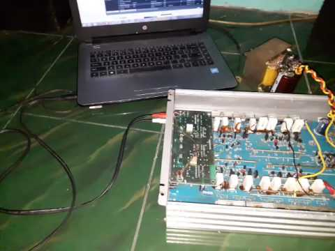 [Booom Basss Subwoofer] Testing home audio using car power amplifier
