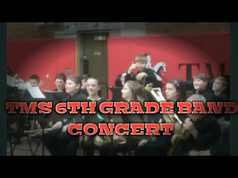 Tenino Middle School 6th grade band