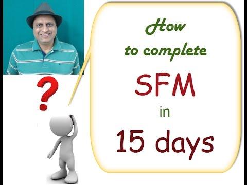SFM Paper Secret Leaked. Complete SFM in 15 days. Say No to failure in SFM. Be a Top Scorer in SFM.