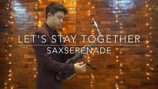 Let's Stay Together - Saxophone Cover