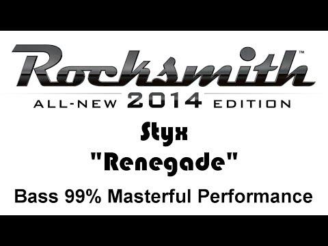 "Styx ""Renegade"" Rocksmith 2014 bass 99% finger"