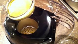 Popcorn machine testen