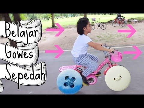 Belajar Gowes Sepeda di Taman Bangkok-Thailand  TheRempongs