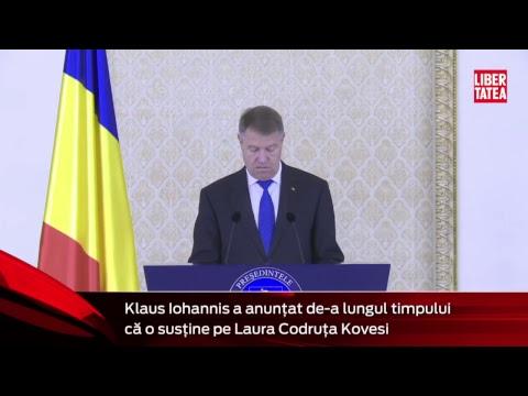 Declaraţiile preşedintelui Klaus Iohannis, în direct la Libertatea.ro