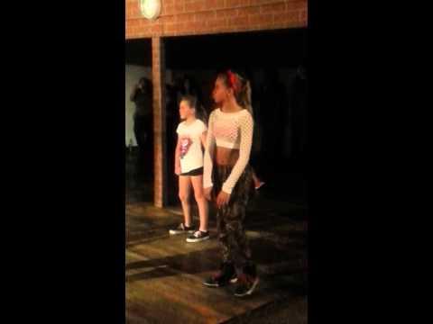 Lilyan Cole Dancing with Alyson Stoner at Millennium Dance Complex