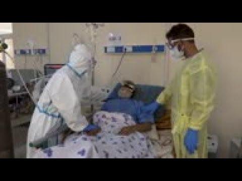 Families step in to help in Afghanistan virus ward