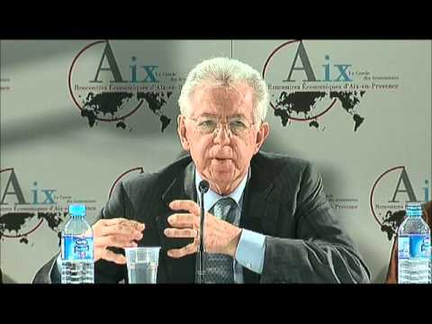 Mario Monti, Pascal Lamy, Anne-Marie Slaughter and Zhu Min on Global Leadership_Session 19 Aix 2012