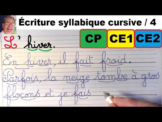 Redaction Sur L Hiver Bien Ecrire Le Francais En Cp Ce1et Ce2 4 Youtube