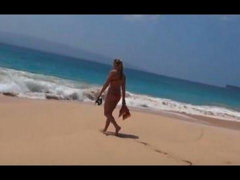 A Lifeguard Babe on Big Beach