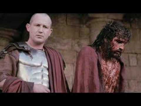Passion of the Christ clips set to Third Day's Love Song