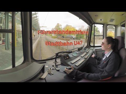 Führerstandsmitfahrt U47 in 360° // DSW21