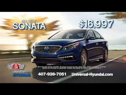 Universal Hyundai 50 to 5K Sales Event!