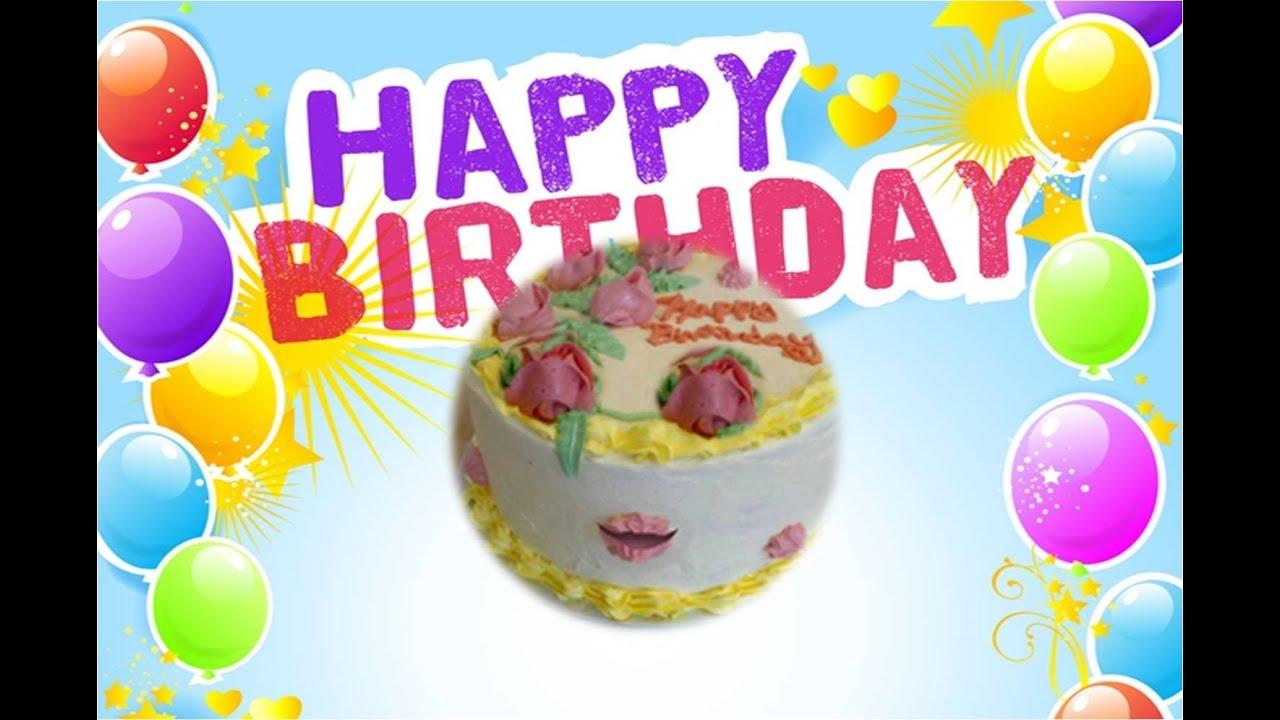 Funny Cake Singing Happy Birthday Youtube