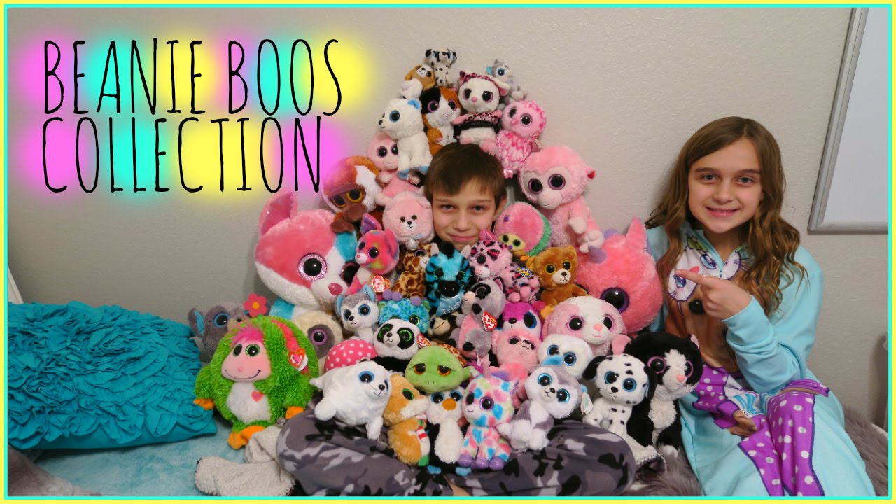 f1547cd0a95 MY ENTIRE BEANIE BOOS STUFFED ANIMAL COLLECTION - YouTube