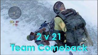 The Last Of Us - 2 v 21 Team Comeback