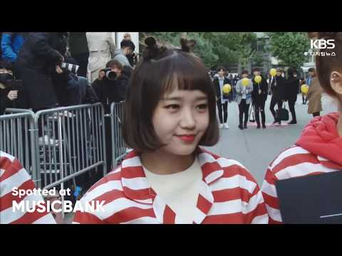 [Spotted at Musicbank] 뮤직뱅크 출근길 10.12