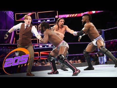 Alexander & Swann vs. Gallagher & Kendrick - Tornado Tag Team Match: WWE 205 Live, Nov. 14, 2017