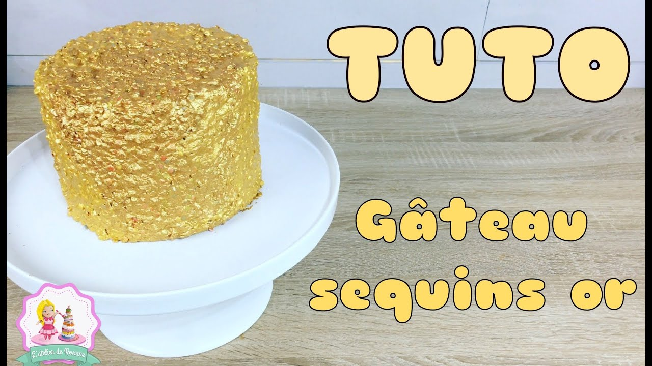 Recette De Garniture Pour Cake Design : DECORATION GATEAU CAKE DESIGN DORe  ? - YouTube
