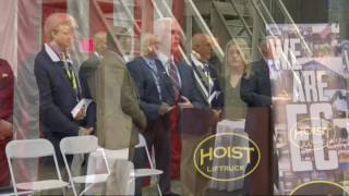 Governor Mike Pence Speaks on Behalf of Hoist Liftruck's Move to Indiana