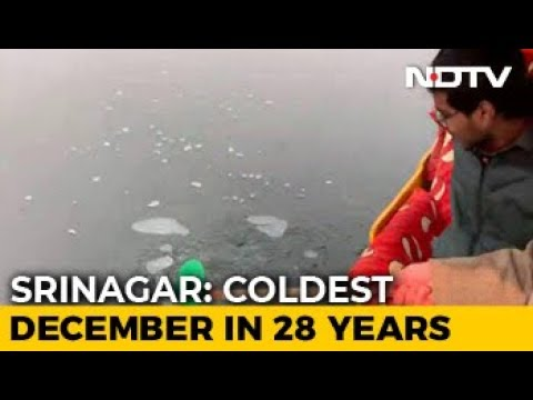Srinagar Witnesses Coldest Night In 28 Years At Minus 7.6 Degrees